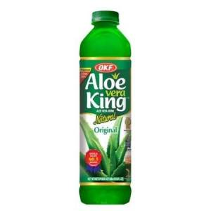 OKF Aloe Vera King Drink, Mango, 16.9 Fl Oz (Case of 20)