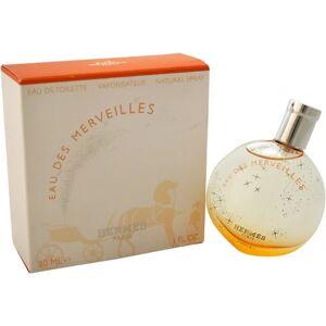 Hermes Eau des Merveilles Eau de Toilette Spray for Women, 1 oz