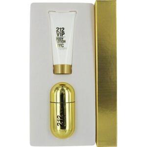 Carolina Herrera 212 Vip Set-Eau De Parfum Spray 1.7 Oz & Body Lotion 3.4 Oz By Carolin