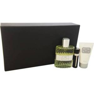 Christian Dior Eau Sauvage for Men Limited Edition Fragrance Gift Set, 3 pc