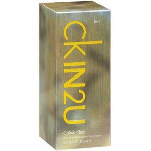 Calvin Klein CKIN2U by Calvin Klein for Women EDT Spray, 1.7 oz