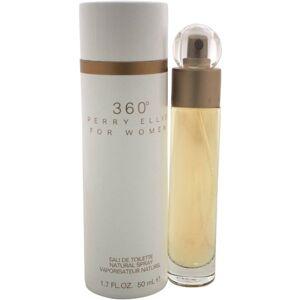 Perry Ellis for Women 360deg Eau de Toilette Natural Spray, 1.7 fl oz