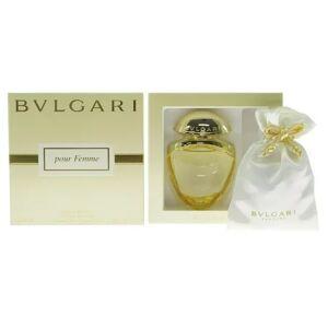 Bulgari BVLGARI Pour Femme by Bulgari 0.84 oz 25 ml edp Women Perfume w/ Satin Pouch NIB