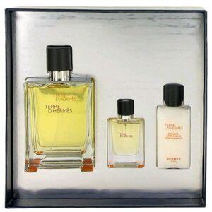 Hermes Terre d' Men's 3-piece Fragrance Gift Set