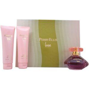 Perry Ellis Perry Ellis Love for Women Gift Set, 3 pc