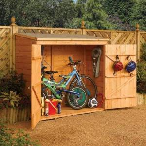 Rowlinson Garden Products Wallstore 5' x 6' Storage Shed