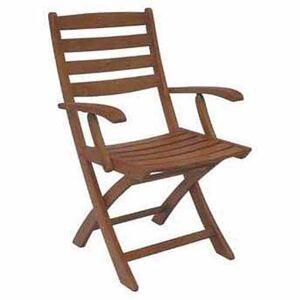 DC America Sequoia Folding Arm Chair