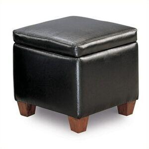Coaster Ottoman In Black Finish 500902