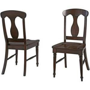 Home Styles Bermuda Dining Chair in Espresso (Set of 2)
