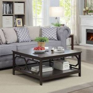 """Convenience Concepts Omega Square 36"""" Coffee Table"""