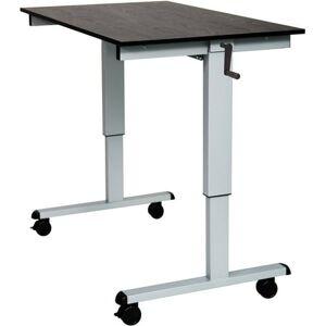 Luxor SC48-AG/BO-1PK Crank Adjustable Stand Up Desk