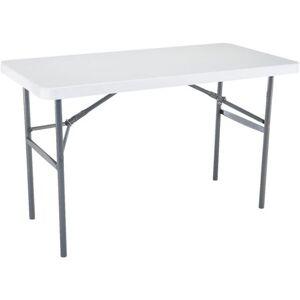 Lifetime/Xiamen Lifetime Rectangle Straight Leg Folding Table