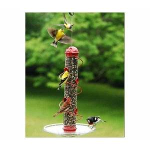 Garmin Red Mixed Seed Spiral Feeder 17 inches