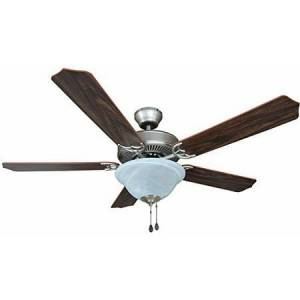 Hardware House - Electrical 12-7059 Satin Nickel 52 In. Ceiling Fan