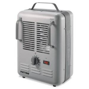 Patton Utility Heater, 7 7/10 x 10 3/10 x 14 3/5Gray