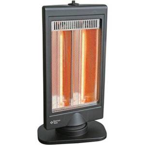 Zone Comfort Zone Oscillating Flat Panel Halogen Heater