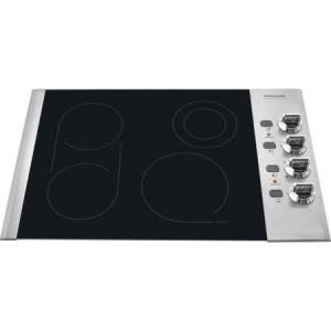 """Frigidaire FPEC3085K 30"""" Electric Cooktop with PowerPlus Boil and SpaceWise Brid"""
