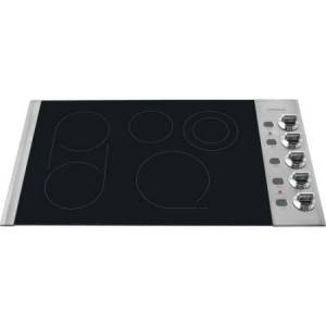 """Frigidaire FPEC3685K 36"""" Smoothtop Electric Cooktop with PowerPlus Boil and Fits"""