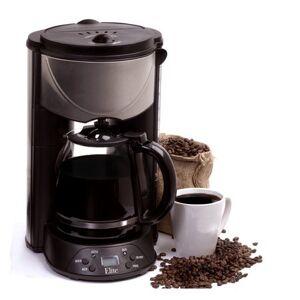 Platinum Elite Platinum 12-Cup Programmable Coffee Maker, EHC-646T