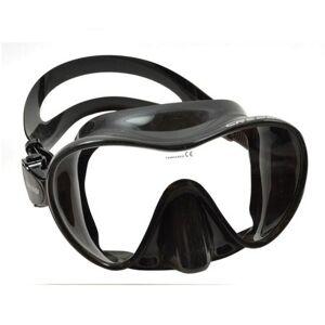 Cressi Scuba Snorkeling Frameless Dive Mask, All Black