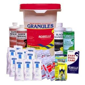 Robelle Chemical Maintenance Kit with Chlorinating Granules - 50 lbs