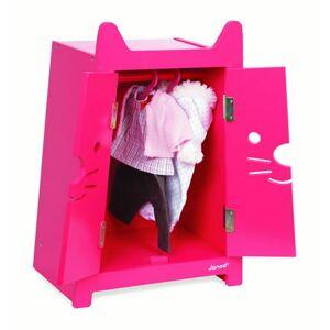 Janod Babycat Pink Wardrobe