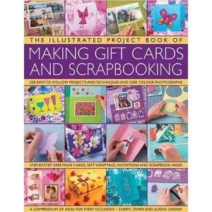 Pro-Ject The Illustrated Project Book of Making Gift Cards and Scrapbooking