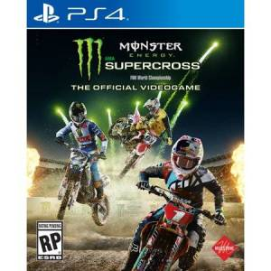 Square Enix Monster Energy Supercross: The Official Videogame (PS4)