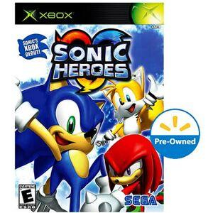 SEGA sonic heroes - xbox