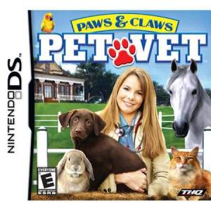 THQ paws; claws: pet vet - nintendo ds