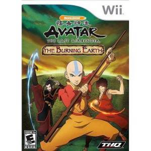 THQ Avatar The Last Airbender: The Burning Earth - Wii