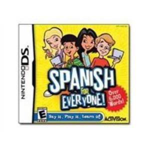 Activision spanish for everyone - nintendo ds