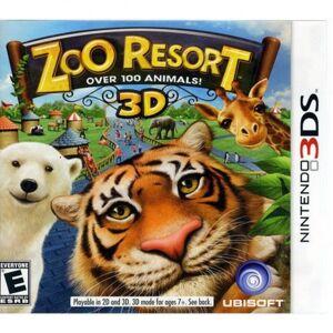 Ubisoft zoo resort - nintendo 3ds