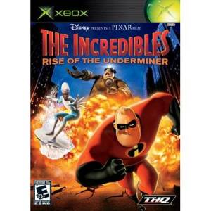 THQ The Incredibles: Rise of the Underminer