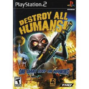 THQ Destroy All Humans! (PS2)