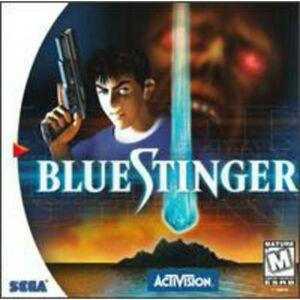Activision Blue Stinger Dreamcast