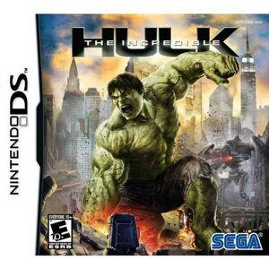 SEGA The Incredible Hulk - Nintendo DS