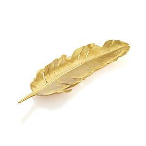 Michael Aram Gold Feather  - Gold