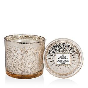 Voluspa Blond Tabac Grande Maison Candle  - White Gold