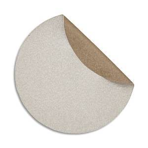 Mode Living Notte Round Placemats, Set of 4  - Latte Bronze