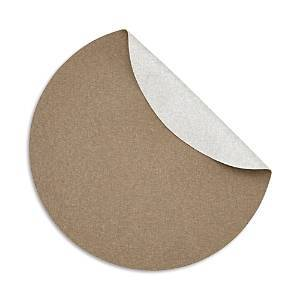 Mode Living Notte Round Placemats, Set of 4  - Milky Bronze
