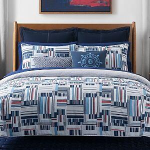 Tommy Hilfiger Ditch Plains Reversible Comforter Set, Full/Queen  - Multi