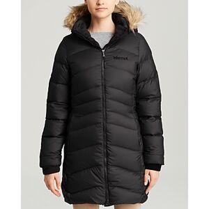 Marmot Coat - Montreal Hooded  - Female - Black - Size: Small