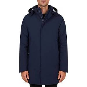 Save The Duck Griny Hooded Waterproof Jacket  - Male - Navy Blue - Size: Medium