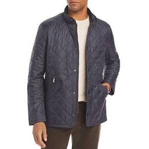 Barbour Flyweight Chelsea Quilted Jacket  - Male - Navy - Size: Medium