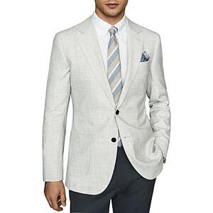 Reiss Edition Regular Fit Blazer  - Male - Soft Gray - Size: 36