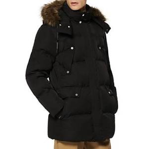 Marc New York Andrew Marc Orion Puffer Coat  - Male - Black - Size: Large
