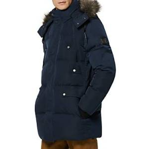 Marc New York Andrew Marc Orion Puffer Coat  - Male - Ink - Size: Extra Large