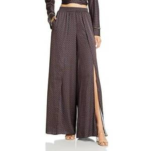Jonathan Simkhai Chain Print Swim Cover-Up Pants  - Female - Midnight Combo - Size: Large