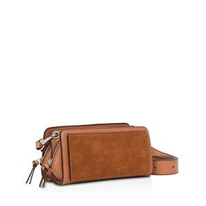 rag & bone Boxster Mini Leather Crossbody  - Female - Tan/Silver